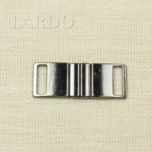 Пряжка разъёмная металл цвета тёмный никель 6,2 см x 2,4 см