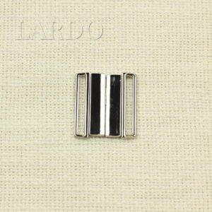 Пряжка разъёмная металл цвета никель 3 см x 3,3 см