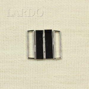 Пряжка разъёмная металл цвета никель 4 см x 3,6 см