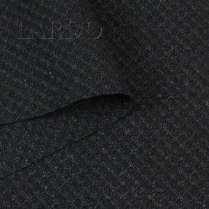 Лён чёрный серые соты