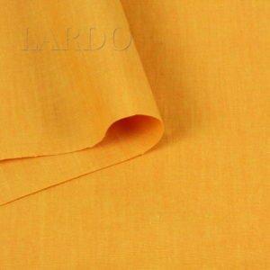 Лён с вискозой апельсиновый