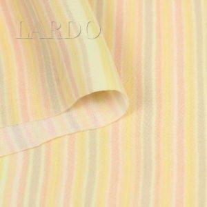 Креп двойной пастельная полоска