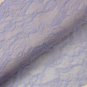 Кружево стретч лиловое шир. 24 см