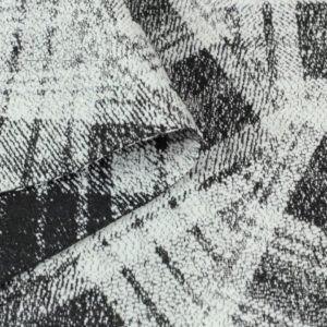 Костюмный ткань в клетку абстракция