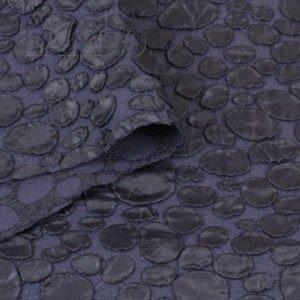 Фукра стретч плательная тёмно-синяя