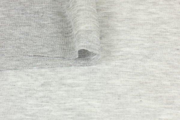 Трикотаж вискоза стретч серый меланж