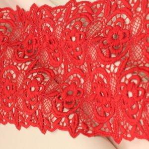 Кружево красное шир. 15 см