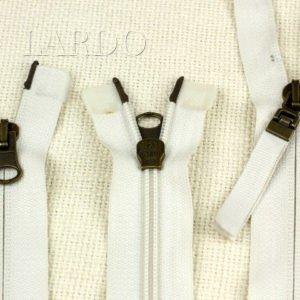 Молния RUBA разъёмная, двухзамковая, 70 см, №5, молочная