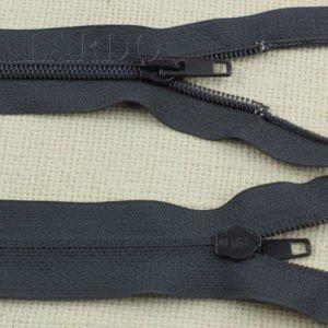 Молния UNIZIP разъёмная, однозамковая, 65 см, №5, тёмно-серая