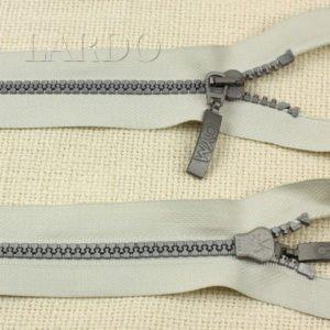 Молния GYM ТРАКТОР, разъёмная, однозамковая, 55 см, №5, серая