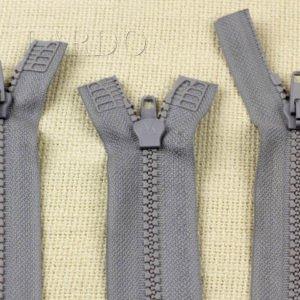 Молния ТРАКТОР, разъёмная, двухзамковая, 60 см, №5, серая