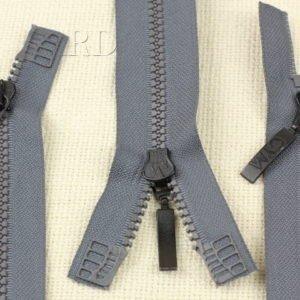 Молния GYM ТРАКТОР, разъёмная, двухзамковая, 70 см, №5, серая