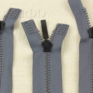 Молния GYM ТРАКТОР, разъёмная, двухзамковая, 73 см, №5, серая