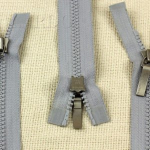Молния YKK VISLON ТРАКТОР, разъёмная, двухзамковая, 72 см, №5, серая