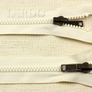 Молния ТРАКТОР разъёмная, однозамковая, реверс (перекидной бегунок) 47 см, №5, белая