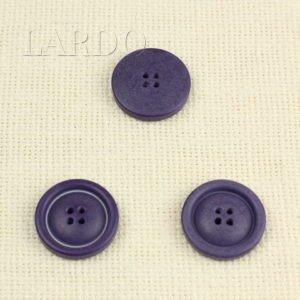Пуговица пластик ∅ 2,8 см фиолетовая