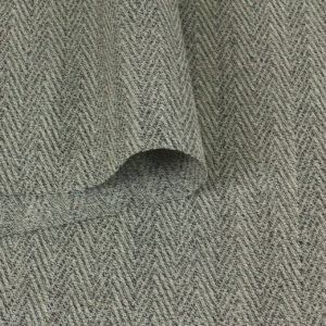 Шерсть костюмная серая ёлочка
