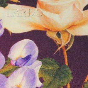 Шерсть плательная купон цветы Alta Moda