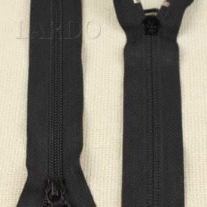 Молния YKK неразъёмная, однозамковая, 15 см, №5, чёрная