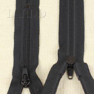 Молния BLITZ неразъёмная, однозамковая, 14 см, №5, чёрная