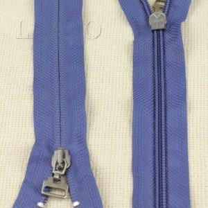 Молния LAMPO неразъёмная, однозамковая, 25 см, №5, голубая