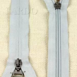 Молния ПОТАЙНАЯ LAMPO, неразъёмная, однозамковая, 28 см, №5, светло-голубая