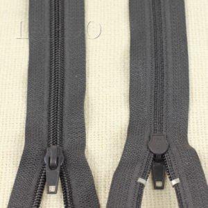 Молния YKK неразъёмная, однозамковая, 20 см, №5, чёрная