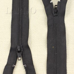Молния разъёмная, однозамковая, 45 см, №3, чёрная