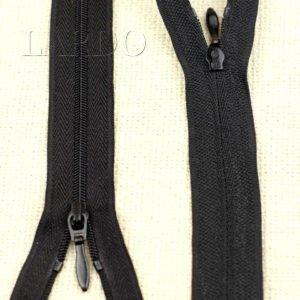 Молния разъёмная, однозамковая, 50 см, №3, чёрная