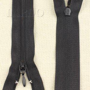 Молния UNIZIP разъёмная, однозамковая, 52 см, №3, чёрная