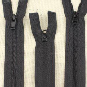Молния UNIZIP разъёмная, двухзамковая, 68 см, №3, чёрная