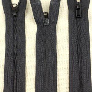 Молния UNIZIP разъёмная, двухзамковая, 72 см, №3, чёрная