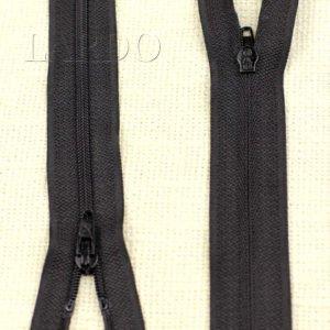 Молния BC разъёмная, однозамковая, 40 см, №3, чёрная