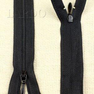 Молния разъёмная, однозамковая, 35 см, №3, чёрная