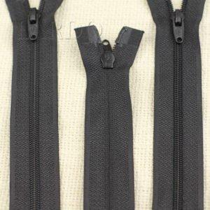 Молния UNIZIP разъёмная, двухзамковая, 62 см, №3, чёрная