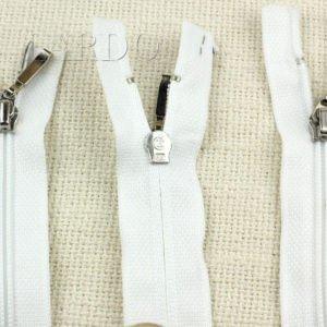 Молния LONG PLAY разъёмная, однозамковая, 57 см, №3, белая