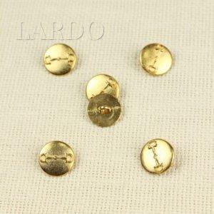 Пуговица металл золото ∅ 2,0 см