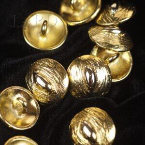 Пуговица на ножке металл золотистый ∅ 1,8 см