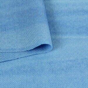 Шерсть тай-дай (варёная) бирюзово-голубая