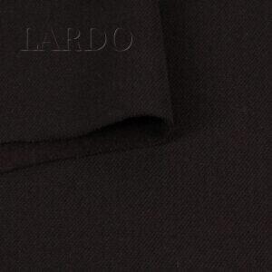 Шерсть костюмная с начёсом цвета баклажан