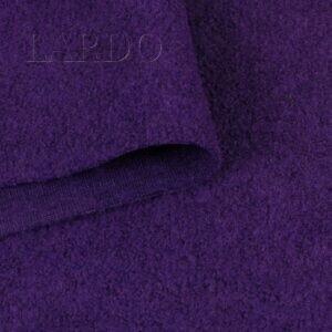 Лоден букле фиолетовый