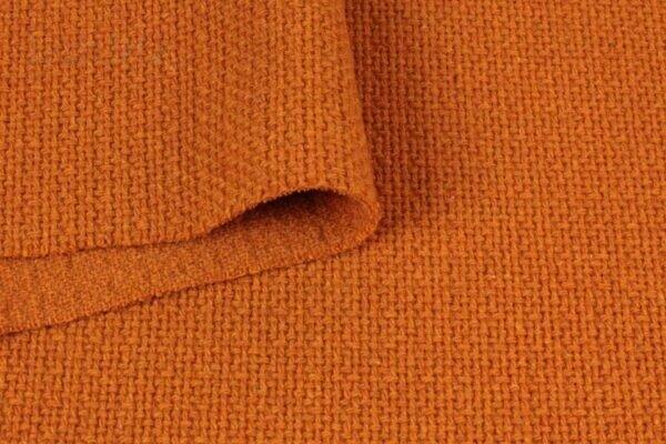Пальтовая ткань оранжевая