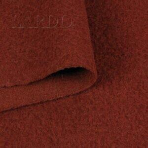 Шерсть пальтовая терракотовая