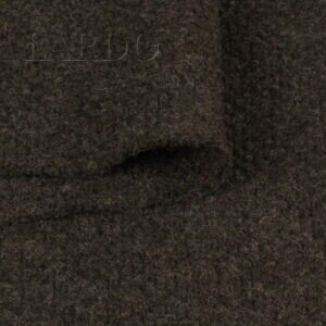 Трикотаж шерстяной тёмно-коричневый