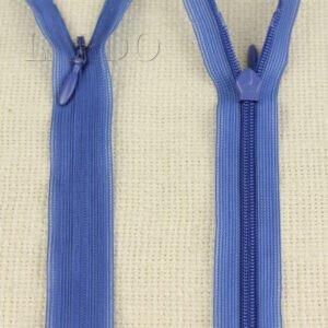 Молния ПОТАЙНАЯ ST неразъёмная, однозамковая, 40 см, №3, синяя