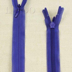Молния ПОТАЙНАЯ YKK неразъёмная, однозамковая, 50 см, №3, синяя
