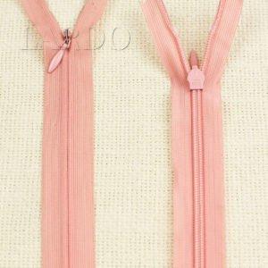 Молния ПОТАЙНАЯ RTC неразъёмная, однозамковая, 50 см, №3, розовая