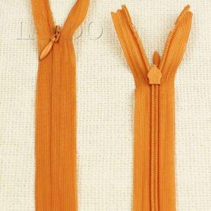 Молния ПОТАЙНАЯ RTC неразъёмная, однозамковая, 50 см, №3, оранжевая