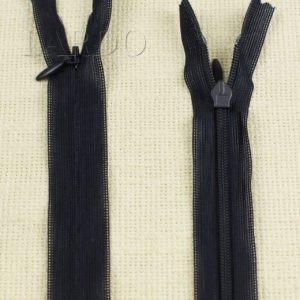 Молния ПОТАЙНАЯ KCC неразъёмная, однозамковая, 50 см, №3, тёмно-синяя