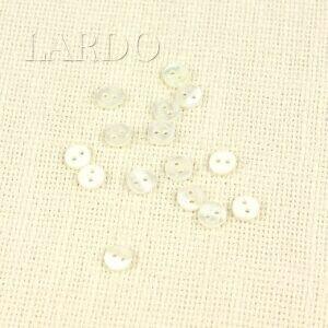 Пуговица Tulino пластик ∅ 0,8 см, белая